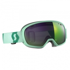 Scott Muse Pro  mint Goggle enhancer green chrome