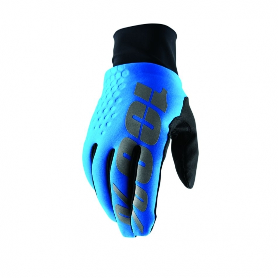 100% Hydromatic Brisker Cold Weather & Waterproof Glove cyan