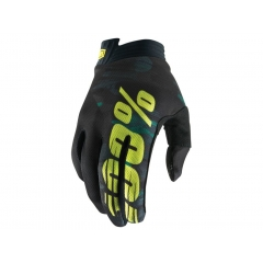 100% iTrack Youth Glove camo black/green