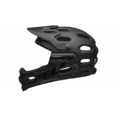 Bell Super 3R Mips matt black/grey