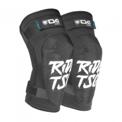 TSG Knee Pads Scout A ripped black