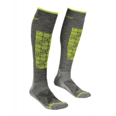 Ortovox Ski Compression Socks M grey blend