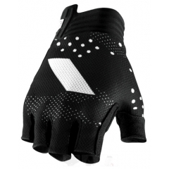 100% Exceeda Gel Short Finger Glove black