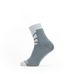 Sealskinz Waterproof Warm Weather Ankle Length Sock grey