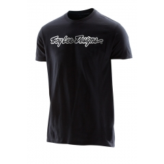 Troy Lee Designs Signature Tee black white