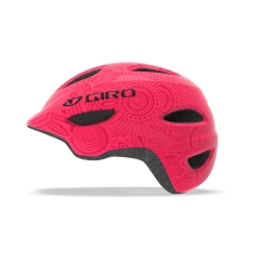 Giro Scamp Youth Helmet bright pink pearl