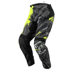 Oneal Element Youth Pants RIDE black neon yellow