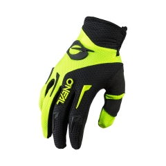 Oneal Element Glove neon yellow black