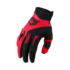Oneal Element Glove red black