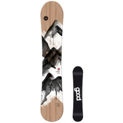 Good Boards Wooden Snowboard esche