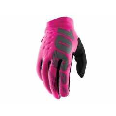 100% Brisker Women Cold Weather Glove pink black