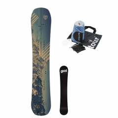 Good Boards GB Split + Contour Hybrid Mix Splitboard Felle