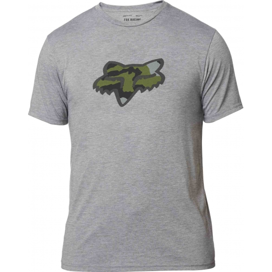 Fox Predator SS Tech Tee heather graph