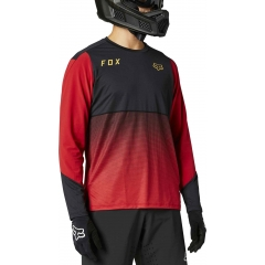 Fox Flexair LS Jersey chili