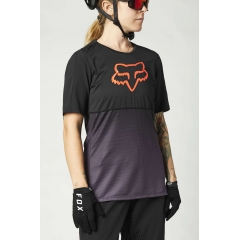 Fox Woman Flexair SS Jersey black purple