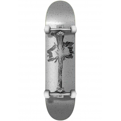 Red-Dragon Skateboards-Complete Shattered 7.75 grey