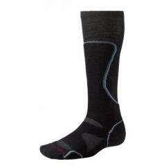 Smartwool PhD Ski Medium Socks Black/Grey