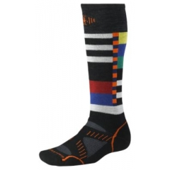 Smartwool PhD Snowboard Medium Socks Black/Natural White