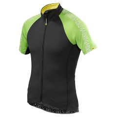 Mavic Sprint Relax Jersey black green