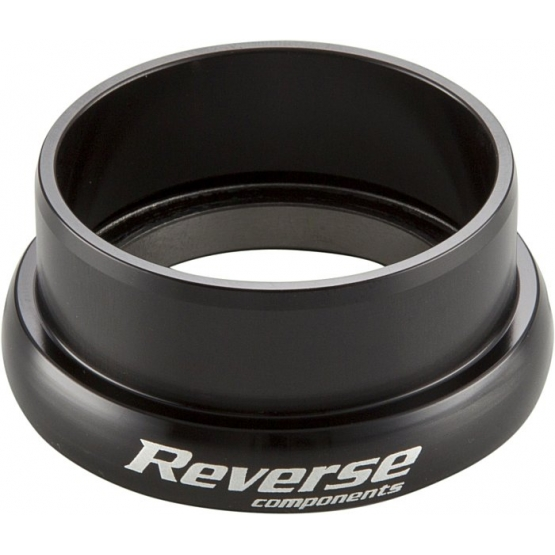 Reverse Steuersatz Twister Lower Cup AH 1.5 black without Crown Race Ring