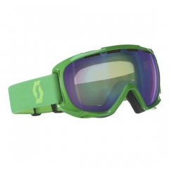 Scott Fix green Goggle green chrome