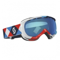 Scott Reply kilt red blue Goggle blue chrome