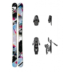 Salomon Galaxy Womens Ski 2012 + Bindung