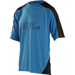 Royal AM Ride Shortsleeve Youth Jersey blue black