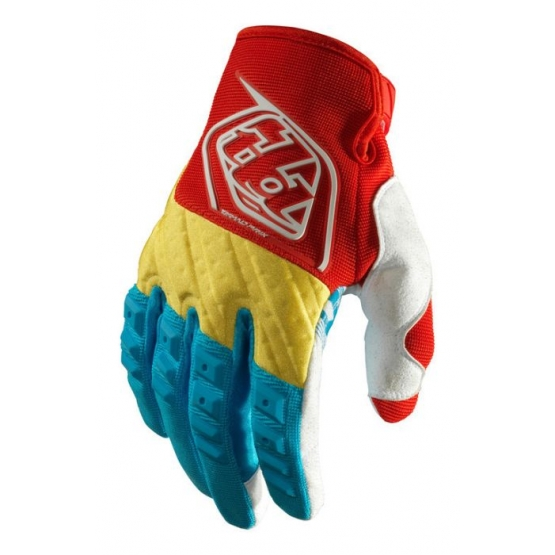 Troy Lee Designs GP Glove blue yellow