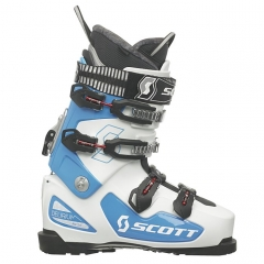 Scott Delirium FR 130+ TN Skiboot white blue 2014