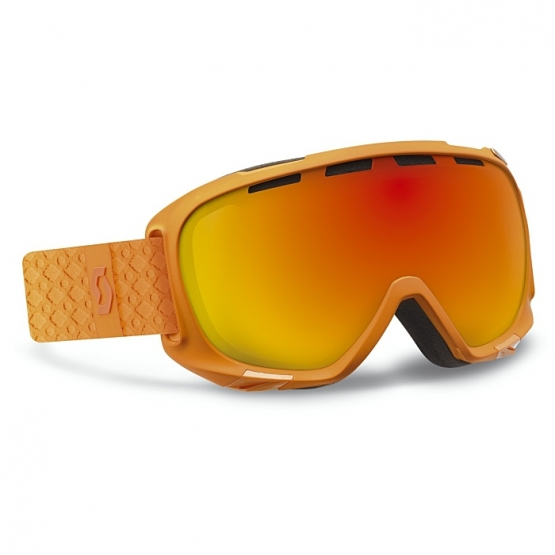 Scott Fix orange solid Goggle red chrome1