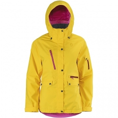 Scott Annita Womens Jacket chrome yellow