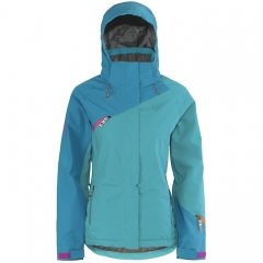 Scott Octavia Womens Jacket ocean blue tile blue