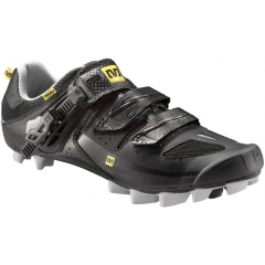 Mavic Rush SPD Bikeshoe black metallic silver
